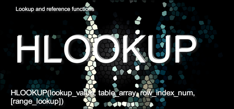 HLOOKUP関数