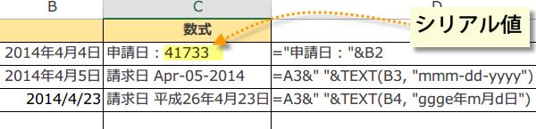 EXCEL TEXT関数 文字と日付をくっつけるには~エクセル2013関数技 ...