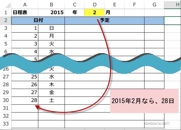 万年カレンダーをつくる~月を ... : 白紙 カレンダー : カレンダー
