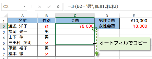 If excel 関数