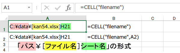 CELL 関数